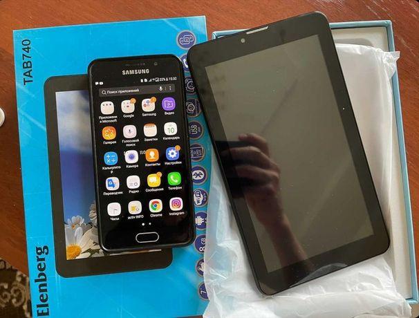 Продам  2 телефон Samsung a3 и планшет Elenberg tab730