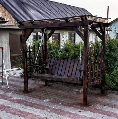 Mobilier gradina balansoare mese și băncuțe fântânițe și decorațiuni