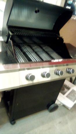 grill,gratar pe gaz 4+1 arzatoare profesional,uz casnic,terasa,gradina