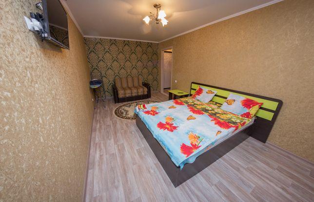 Однакомнатная Квартира Люкс Почасово в Центре города. КТВ / Wi-Fi.