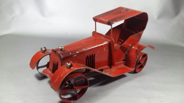 Mașină tablă Macheta vintage car din metal Colectie oldtimer