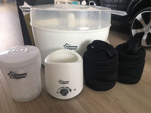 Kit Sterilizator electric, sterilizator microunde, incalzitor electric