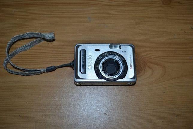 Pentax Optio S60 6MP Digital Camera 3x Optical Zoom si S50 5 MP