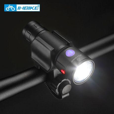 Lanterna far bicicleta 1000 lumeni aluminiu lithium 18650 baterie USB