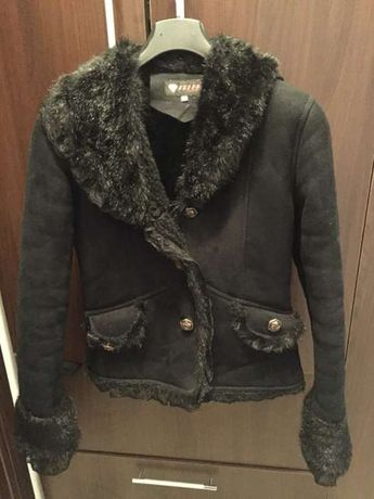 Palton / cojoc negru scurt