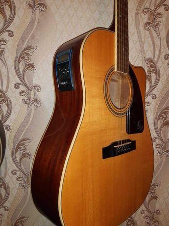 Продам гитару электроакустическую Epiphone AJ 200