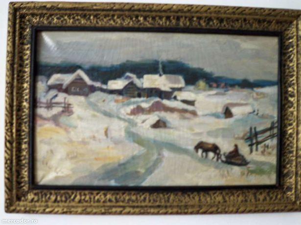 Pictura in ulei pe panza Vintilescu