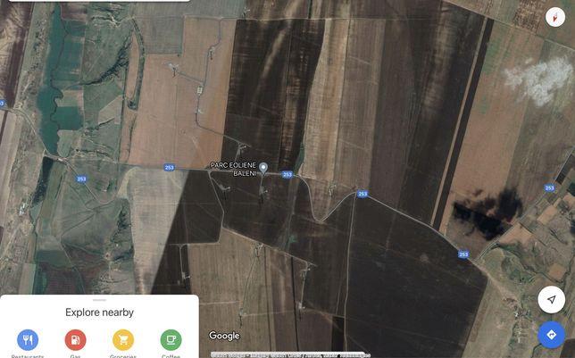 Teren agricol pretabil turbine Eoliene | 4,5 ha