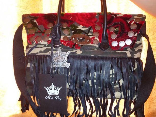Geanta camouflage Mia bag