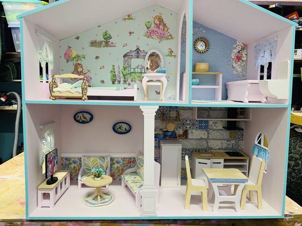 Кукольный домик.Домик для барби.Кукольный дом
