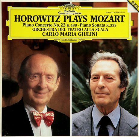 vinil - Horowitz Plays Mozart - Piano Concerto No. 23 + Sonata K 333