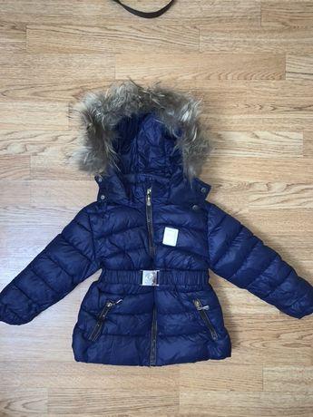 Зимний комбинезон куртка на девочку
