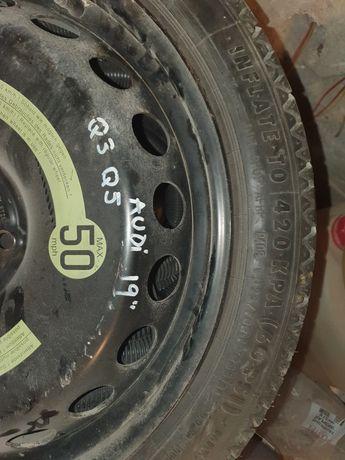 Roată  rezervă  slim originală Audi