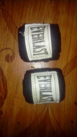 Продам бинт боксёрский 3 метра, чёрный Ewerlast