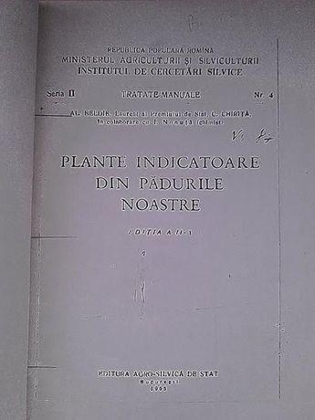 Plante indicatoare din padurile noastre Al. Beldie 1955