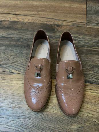 Туфли, лоферы, на девочку 14-15 лет, 35 размер