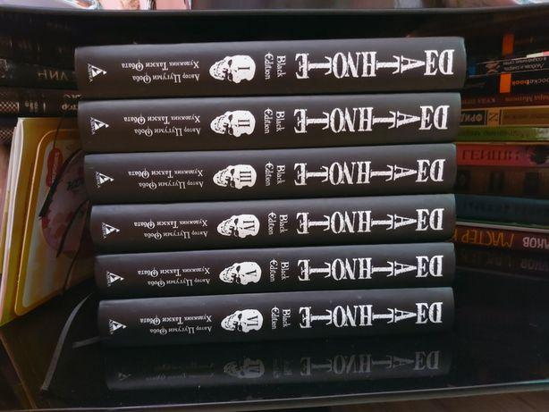 Манга тетрадь смерти 6 книг