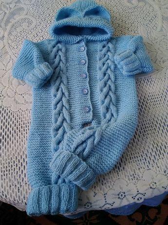 Топъл бебешки гащеризон