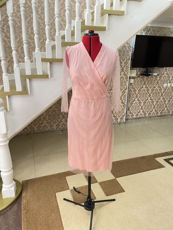Вечернее платье сшитое на заказ. Цена 5000 тг