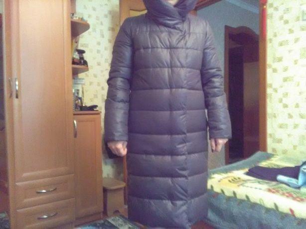 Продам зимний пуховик женский