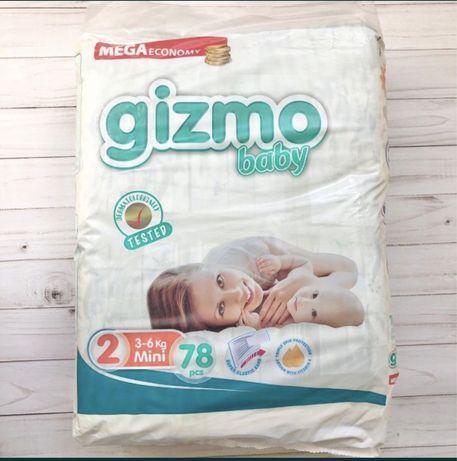 Подгузники Гизмо Gizmo Турция упаковки мега большие!
