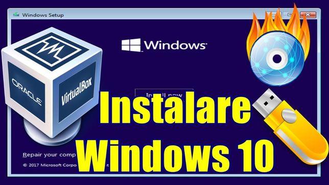 Instalare windows pe calculator sau laptop , reparatii , service IT