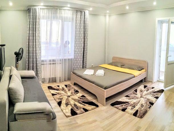 1-комнатная квартира в центре Алматы микрорайон Самал-1