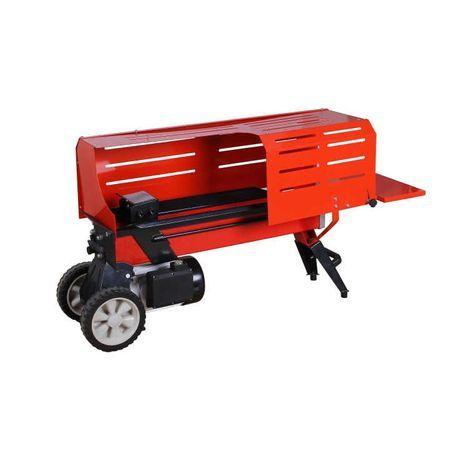 Masina electrica de crapat/taiat, Despicator lemne/busteni(6 tone)