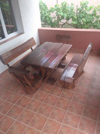 Set masă și scaune pentru terasa
