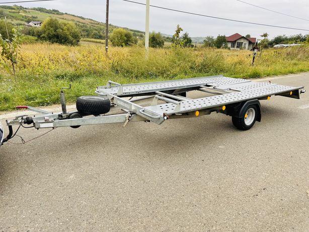 Platforma Pongratz 1500 kg o axa (se conduce cu B-ul) Remorca, Trailer
