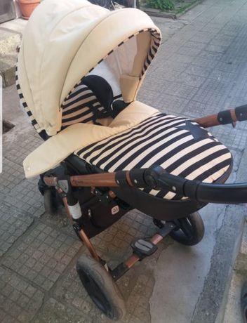 Бебешка количка 3в1 Dada paradiso group