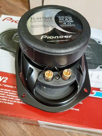 Супер мощные колонки динамики PIONEER мощность 550W Оригинал! Дыни