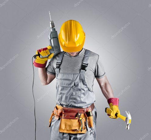 Бригада строителей отделочников