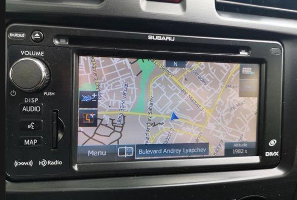 2021 карти ъпдейт навигация СУБАРУ Subaru Impreza/XV/Forester/Legacy/W