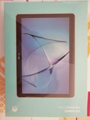 """Vând tableta Huawei T3 10 """"nouă, sigilată. Tableta are și husă."""
