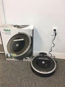 Robot de aspirare iRobot Roomba 870, Filtru HEPA,Baterie XLife , SUA