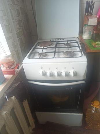 Газовая плита с вытяжкой