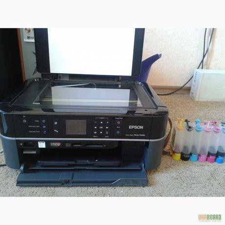 Принтер Epson TX650 + СНПЧ
