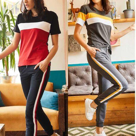 Дамски спортен комплект - 3 цвята - S, M, L, XL