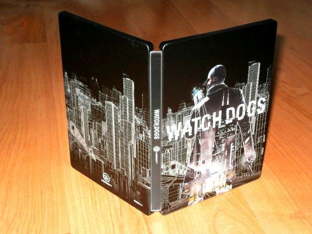 Steelbook Watch Dogs - carcasa de metal, rara ,pentru colectionari