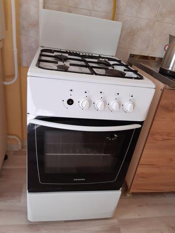Газовая плита, размер 50×60 см