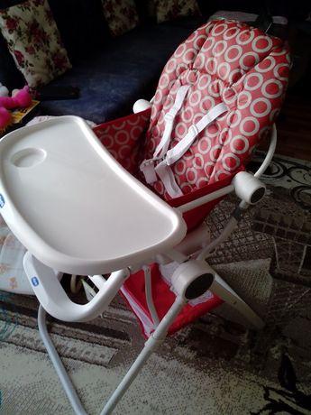 Детско столче за хранене Chicco Pocket Lunch red