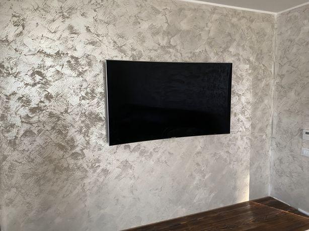 Televizor LED Curbat Smart TV Samsung, 138 cm, 55MU9002, 4K Ultra HD