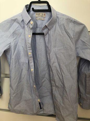 Oferta  2 camasi zara,1 hanorac polo,1 pulover zara 7-8 ani, firma