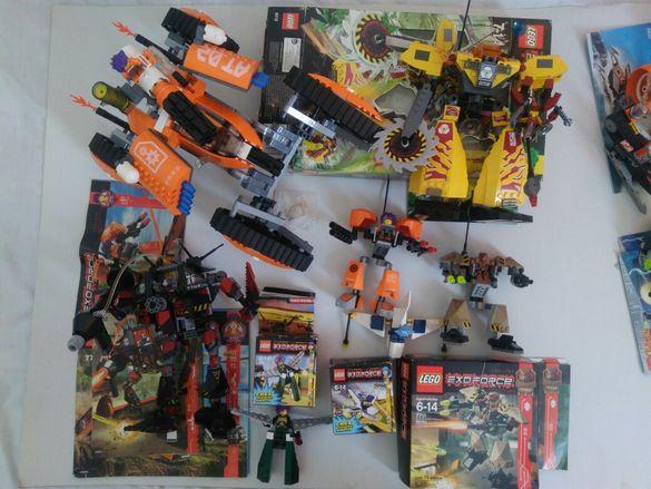 Lego Exo Force, Technic, Power Miners, Mars Mission, Aqua Raiders