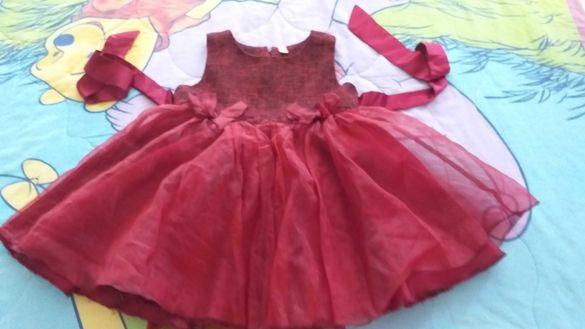 Детска богата уникално красива рокля за модерно дете-35лв.