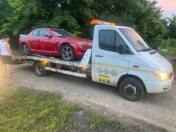 Tractari auto non stop A2-Lehliu Gara Drajna Fundulea