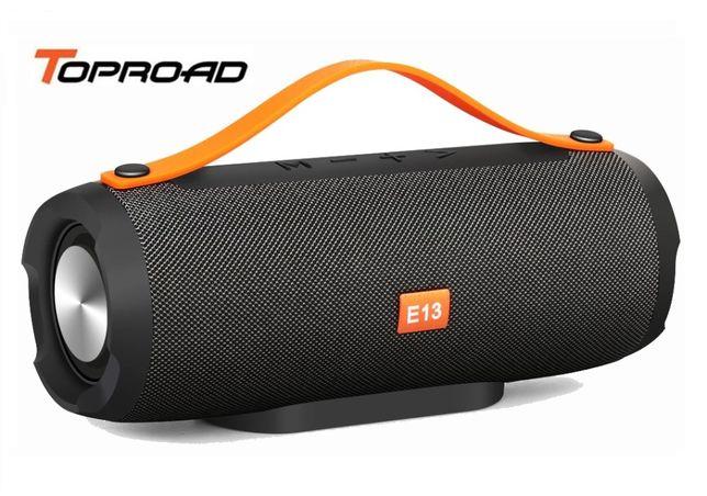 Новая Беспроводная Bluetooth колонка TOPROAD Е13 (мощность 10 Вт, FM)