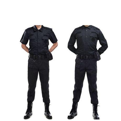 Лятна униформа - черна
