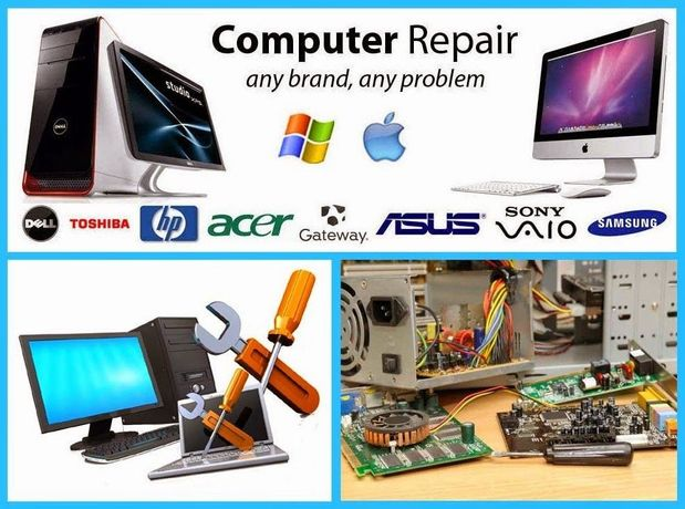 Atelierul de calculatoare, Reparatii calculatoare, Service IT